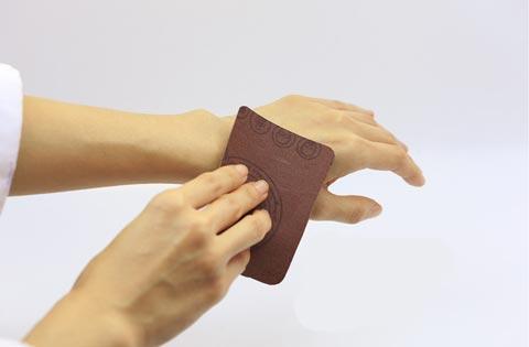 skin abrasion test