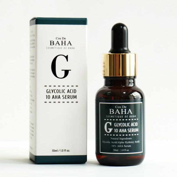 Cos De BAHA 10 Glycolic overnight AHA efoliator gel