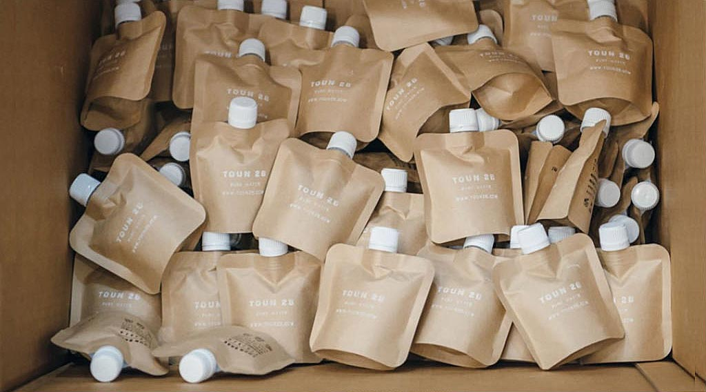 fully recyclable package skin care cosmetics