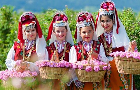 Bulgarian Rose Festival