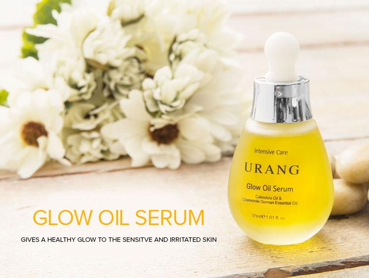 URANG Glow Oil Serum organic skin care product for vegans