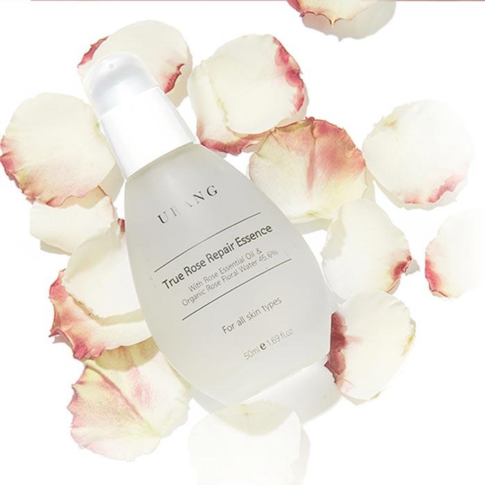 rose essential oil and organic rose water Urang True Rose Repair Essence