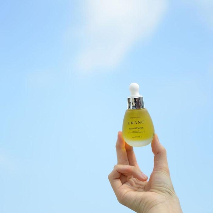 urang glow oil serum organic ingredients