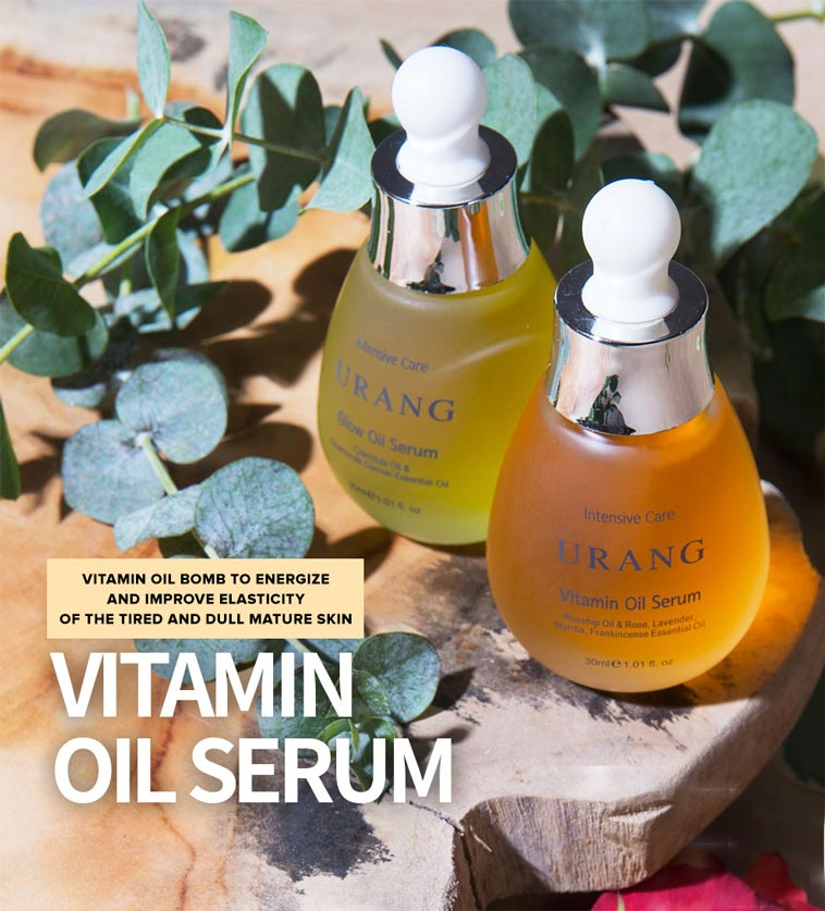 vitamin oil serum banner elasticity boost