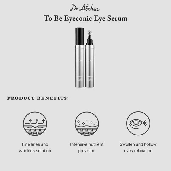 Dr.Althea To Be Eyeconic Eye Serum Product Benefits