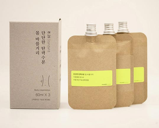 Toun28 body cream lotion box 3 pieces