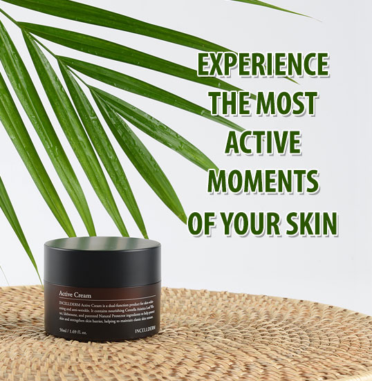 Experience the most active moments of your skin