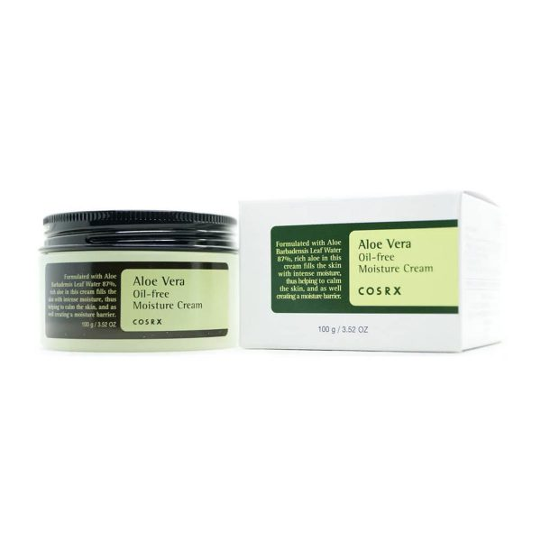 как использовать COSRX Aloe Vera Oil-free Moisture Cream