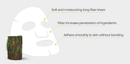 long fiber sheet mask