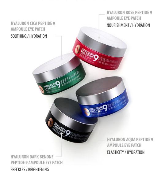 MEDI-PEEL Hyaluron Ampoule Eye Patch product line