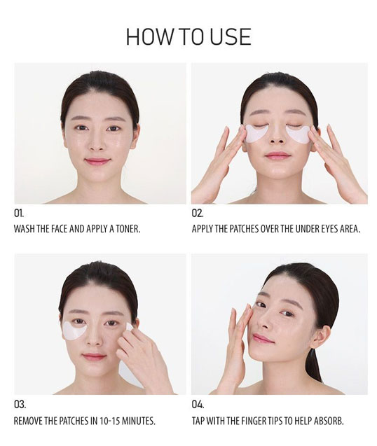 how to use the medipeel dark benone 9 eye patches