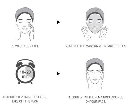 How to use Vita Cocktail Foil Mask Aqua