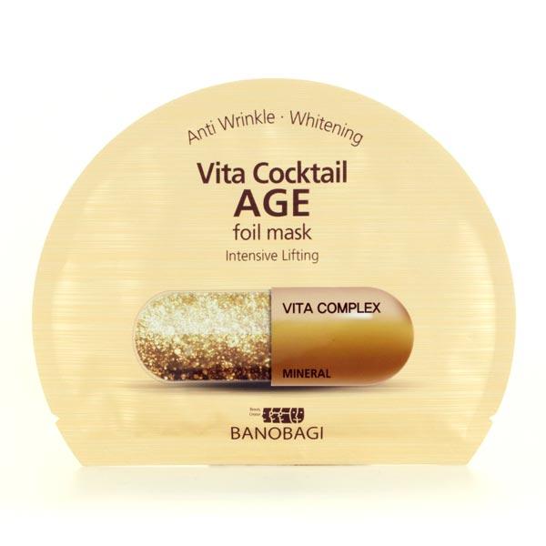 single sheet Banobagi Vita Cocktail Foil Mask Age