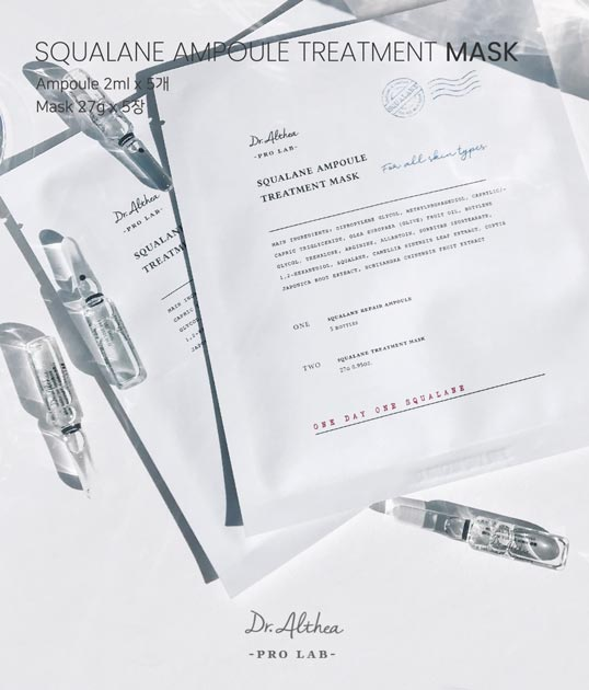 Dr.Althea Squalane Ampoule Treatment Mask features