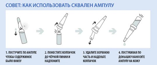 как использовать Dr.Althea Squalane Ampoule Treatment