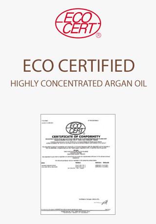 eco certified argan oil