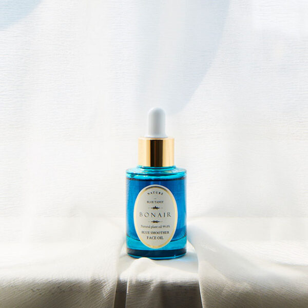 Bonair Blue Smoother Face Oil bi-phase