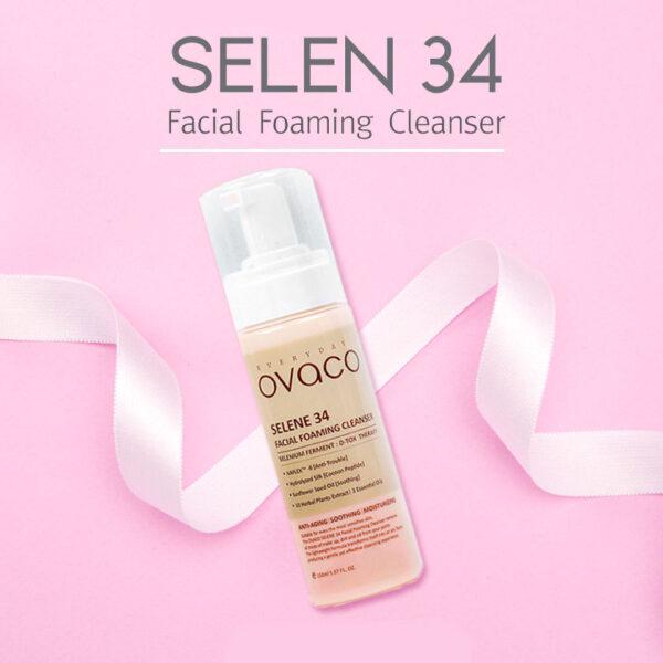 Пенка для умывания лица Ovaco Selene 34 Foaming Cleanser