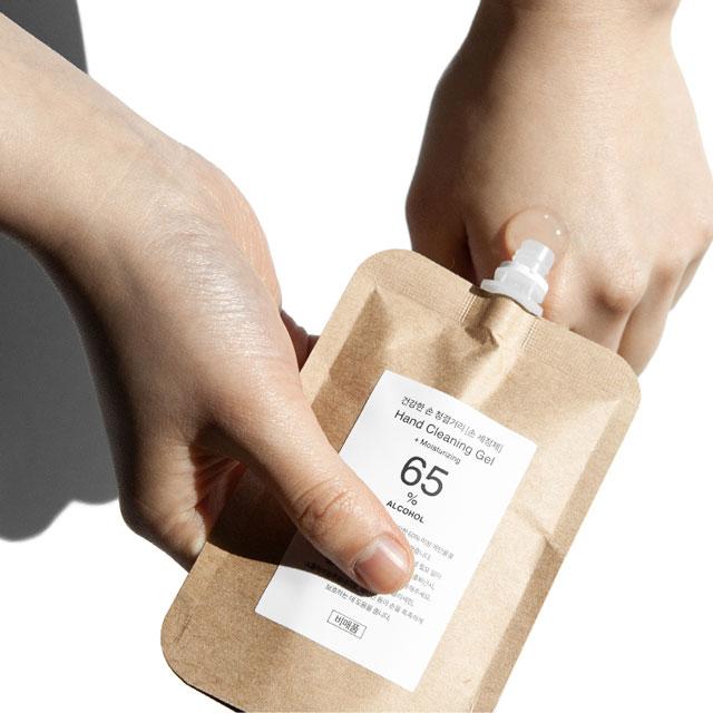 korean natural hand sanitizer gel by toun28