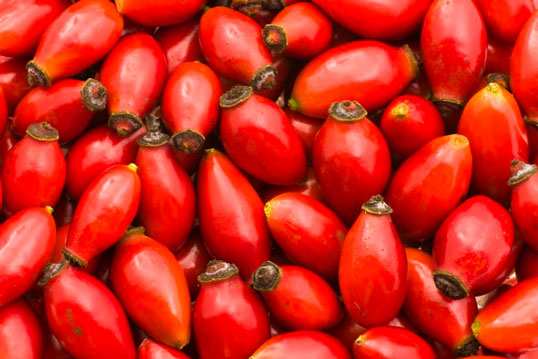 Rosehip contains many useful substances, vitamins and minerals that have a beneficial effect on the state of the human body. It contains a huge amount of vitamin C, which is famous for its antioxidant properties, which means that no one else helps in the fight against aging. In addition to it, berries have vitamins A and E, which are the basis for maintaining the condition of the skin and hair.
