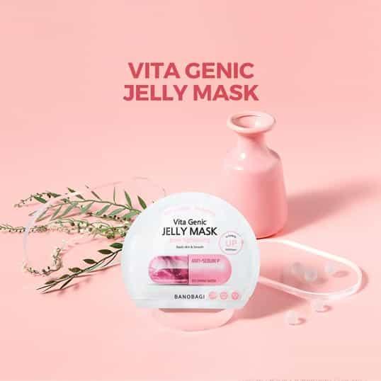 Banobagi Vita Genic Jelly Mask Pore Tightening ingredients