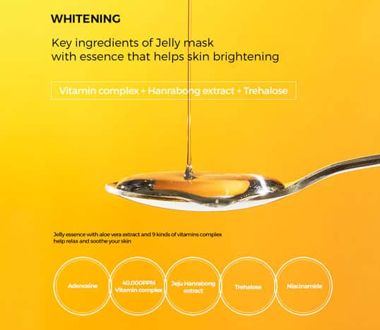 key ingredients Banobagi Vita Genic Jelly Mask Whitening