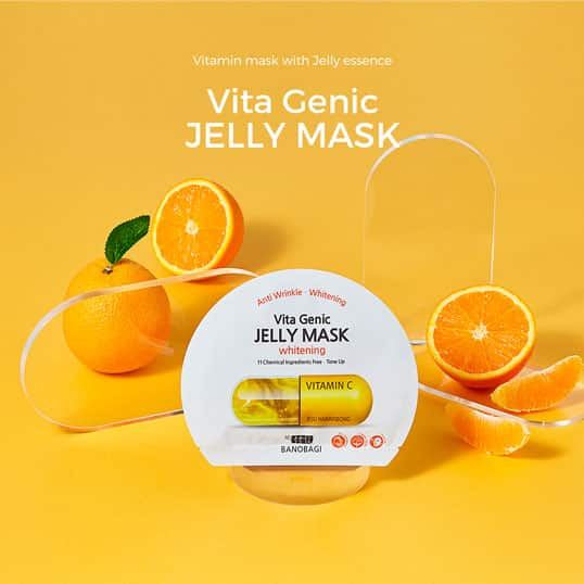 vitamin c mask with jelly essence