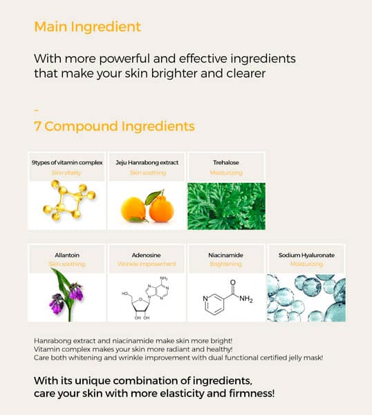 functional antiaging and brightening components