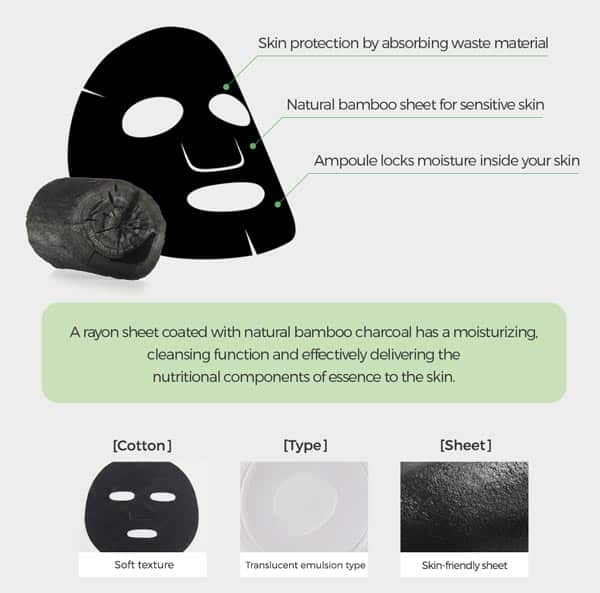 Bamboo Charcoal sheet mask