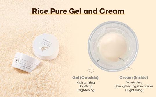cream + gel
