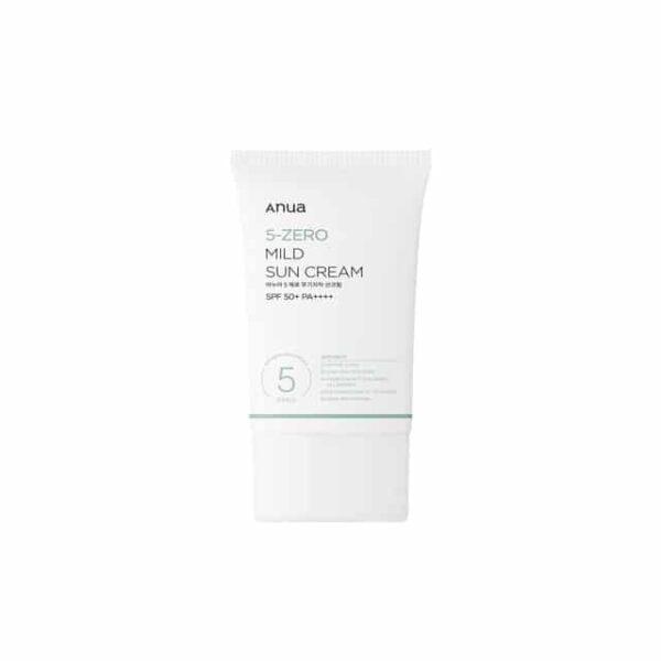 Anua 5-Zero Mild Sun Cream SPF50