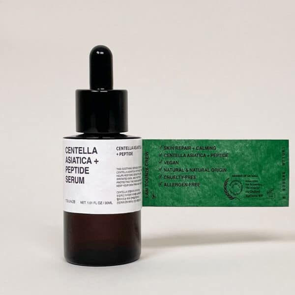 Toun28 Centella Asiatica + Peptide Serum ingredients